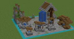 9 Fountain Designs Minecraft Map & Project