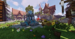 SKYBLOCK SPAWN MEDIEVAL BRITISH  (COMMISSION) Minecraft Map & Project