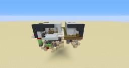 One Chuck Sahara and Sahara NOW - Infinite minecart storage system Minecraft Map & Project