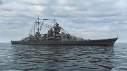 KM Prinz Eugen - 4:1 (Remake) Minecraft Map & Project