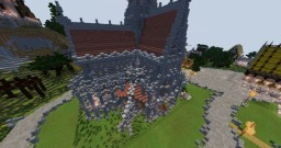 AFO_Darth_Maul's Kirche | Steiningen - Cities | CultCraft.de Minecraft Map & Project