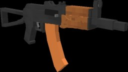 AKS-74u Minecraft Map & Project