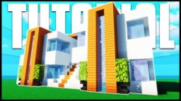 Minecraft Tutorial: How To Make A Modern Apartment Building Minecraft Map & Project