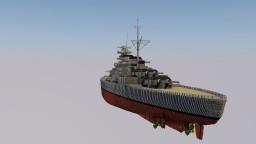 H41 class battleship DKM Lütjens Minecraft Map & Project