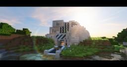 Advanced Modern House Minecraft Map & Project