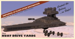 Imperial-II Class Star Destroyer Minecraft Map & Project