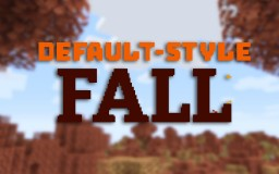Default-Style Fall Pack Minecraft Texture Pack