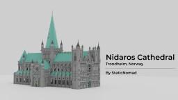 Nidaros Cathedral - Trondheim, Norway. // Nidarosdomen - Trondheim, Norge Minecraft Map & Project