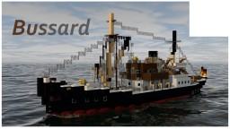 DS BUSSARD [FULL INTERIOR] Minecraft Map & Project
