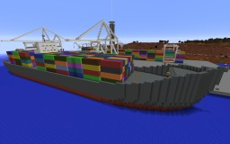 Port in Canyon City Minecraft Map & Project
