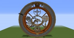 SteamPunk Wheel - map Minecraft Map & Project