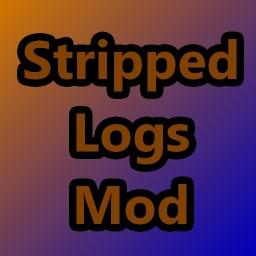 Stripped Logs Mod Minecraft Mod
