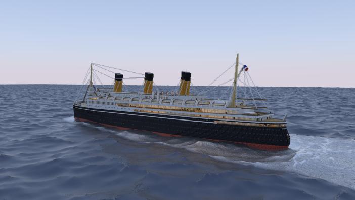 SS L'Atlantiqe Render By HaraldKatze