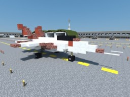 Mitsubishi X-2 Shinshin Minecraft Map & Project