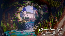 【Gate of the Fairy 100x100】#Download Minecraft Map & Project