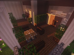 Cozy Decorated Mansion Minecraft Map & Project