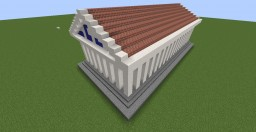 Athenian Parthenon 1:2 Scale Minecraft Map & Project