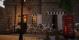 Black Cat Cafe #3 Ramen Corner Minecraft Map & Project