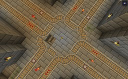 Really smooth rail navigation with tickets. Minecraft Map & Project