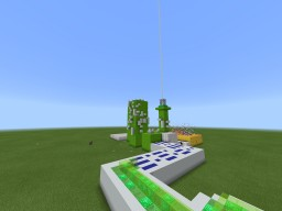 Alien Invasion Ride Minecraft Map & Project