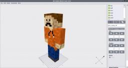 Player Model Viewer Template (Mrcrayfish's Model Creator) Minecraft Mod