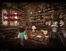 Halloween Invitation1 Minecraft Map & Project