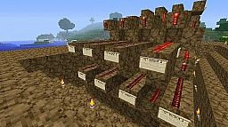 easy to use 8 track switch systeem Minecraft Map & Project