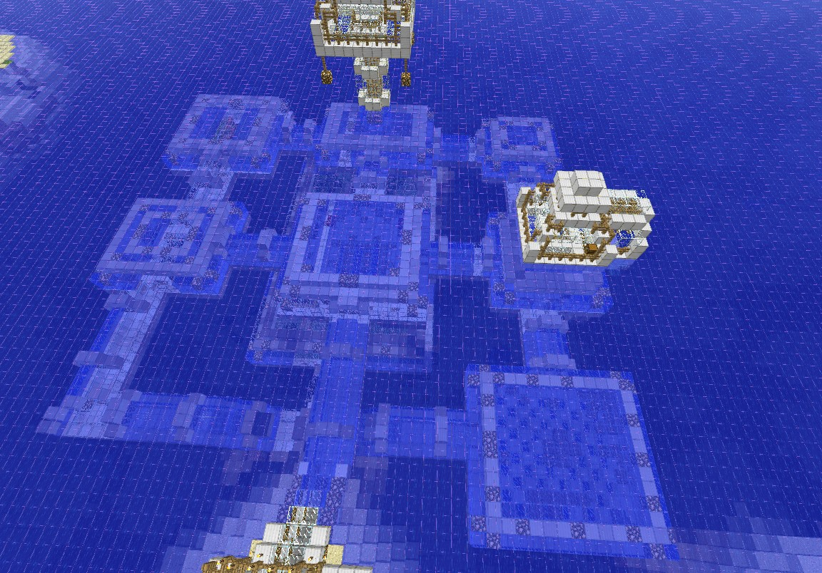 Underwater house [Map] – Minecraft map