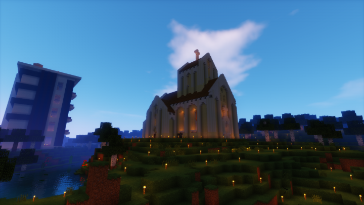 Archival screenshot from SMP server 1