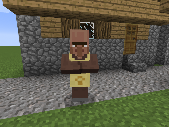 New villager- the shelter worker!