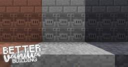 *ADDON* BetterVanillaBuilding. Connected texturesV5. Minecraft Texture Pack