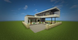 Modern Villa Minecraft Map & Project