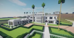 Mansion In Beverly Hills Minecraft Map & Project