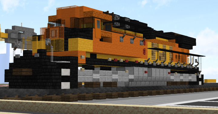 Popular Server Project : bnsf ac4400 #5601 (1.5:1 scale)