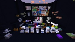 Shoppers City 3D Texture and Datapack 1.14+ v2.2 Minecraft Texture Pack