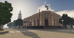 Banco Provincia: Argentine bank branch office Minecraft Map & Project