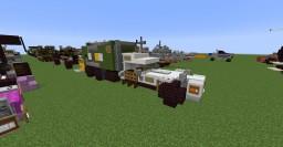 Caterham WM Garbage Truck Minecraft Map & Project
