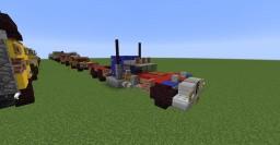 Caterham Autobot Optimus Prime (Transformers) Minecraft Map & Project