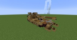 Caterham M1 Abrams Decepticon (Dark of the Moon) Minecraft Map & Project