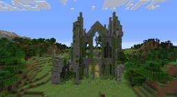 Cathedral Ruins Minecraft Map & Project