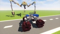 HALF LIFE 2 Combine APC MonsterTruck Minecraft Map & Project