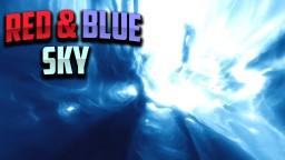 Red & Blue Night Sky Overlay Minecraft Texture Pack