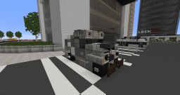 Pacific Rim Armored Car Minecraft Map & Project
