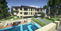 Big Mansion In Los Angeles Minecraft Map & Project