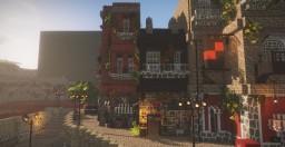Green Bean Bar #1 Sun Street Minecraft Map & Project