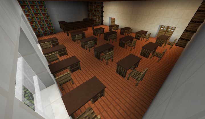 A simple classroom, nothing speacial