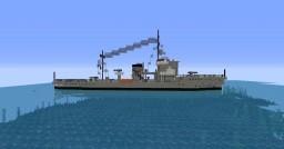 Italian submarine chaser Albatros Minecraft Map & Project