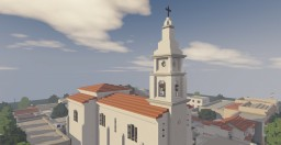 Parroquia Santa Isabel: Argentine rural church Minecraft Map & Project