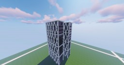 Ernst & Young building Amsterdam scale 1:1 Minecraft Map & Project
