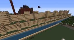 Byzantine Walls (around Palace district) Minecraft Map & Project
